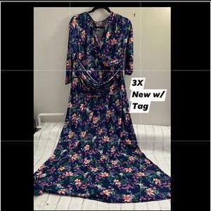 3X Rocklin Wrap Dress by Honey & Lace